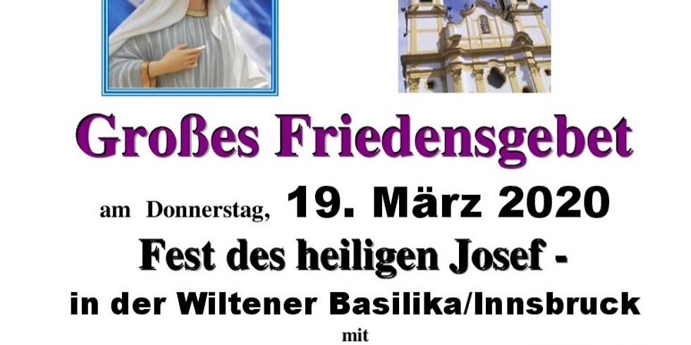 Medjugorje Friedensgebet Innsbruck