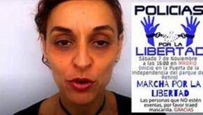 Pandemie? Spanische Polizei gründete Polizisten für Freiheit