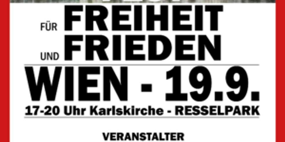 Fest für Freiheit und Frieden Wien