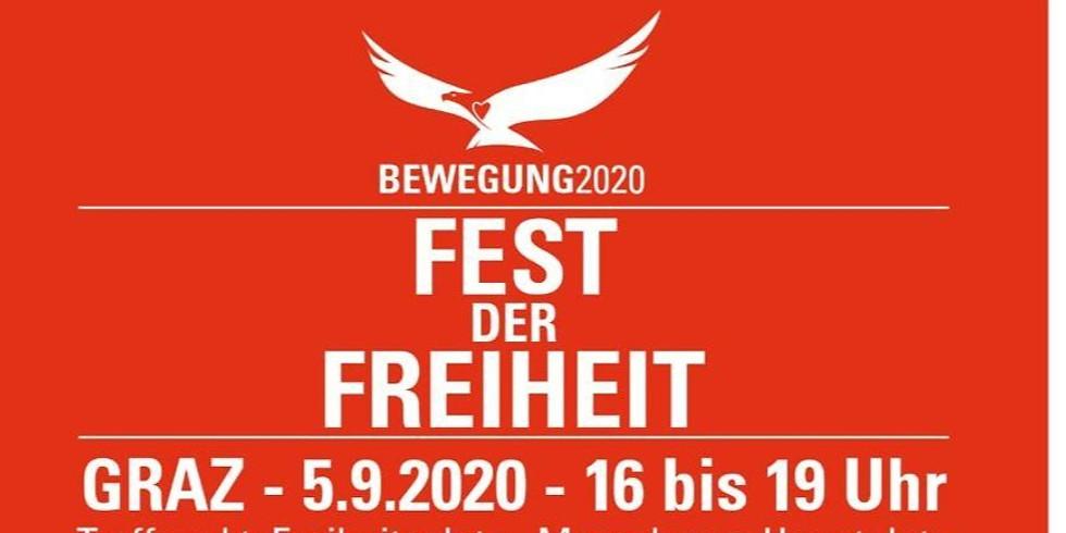Bewegung 2020 Fest der Freiheit Graz