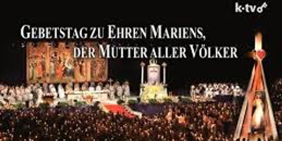 """Gebetstag zu Ehren der """"Frau aller Völker"""""""