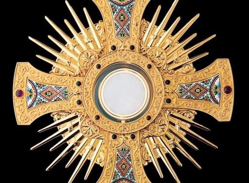 Jesus in der Eucharistie ist unverhandelbare Wahrheit