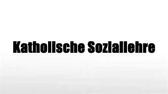 Sozialakademie-Tagung: Katholische Soziallehre als Krisenausweg? one-line Tagung