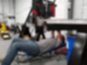 Aerocreeper industrial adjustable height
