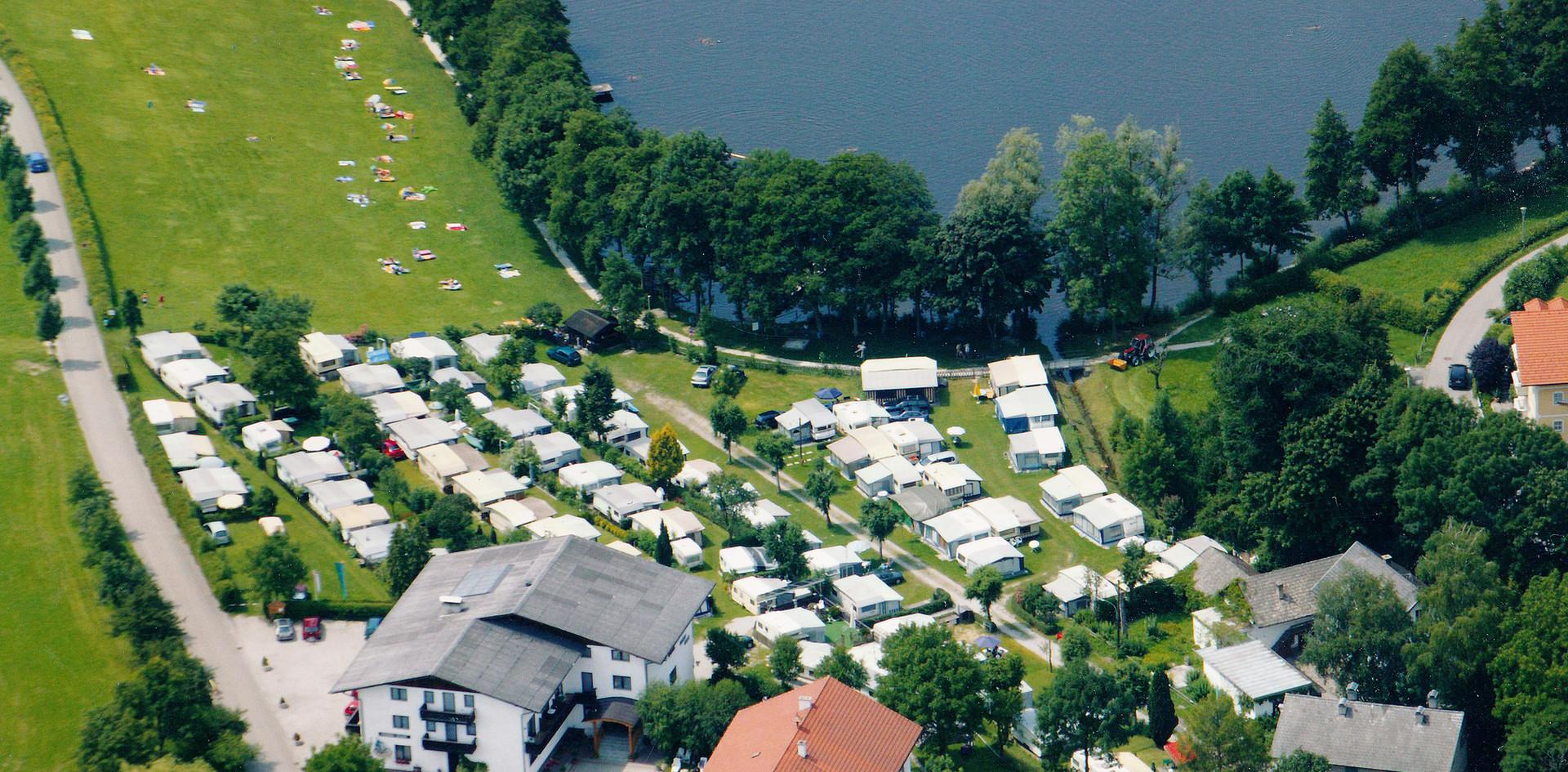 Campingplatz von oben