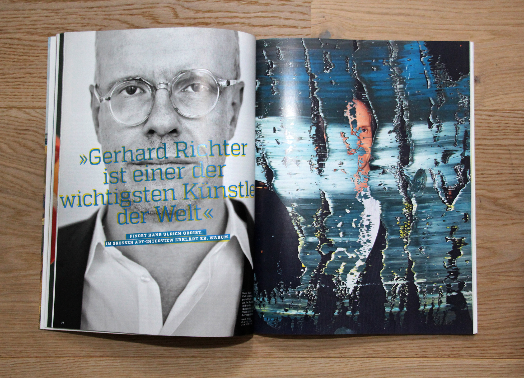 Art magazine Richter special