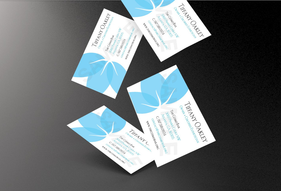 COSMO BAR BUSINESS CARDS