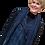 Thumbnail: Handwoven Hand-Dyed Linen Shibori Vest
