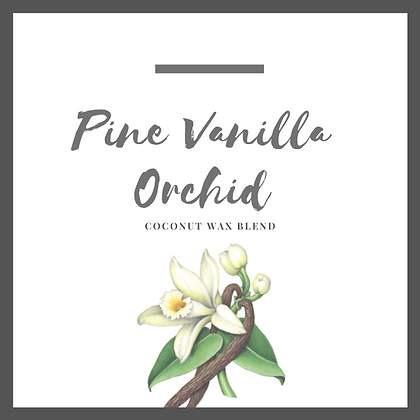 Pine Vanilla Orchid Candle