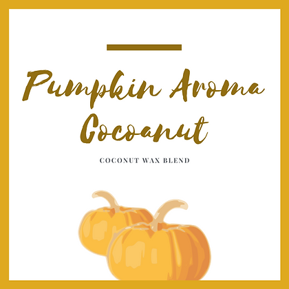 Pumpkin Aroma Cocoanut Candle