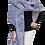 Thumbnail: Handwoven Hand-Dyed Cotton Ikat Ruana