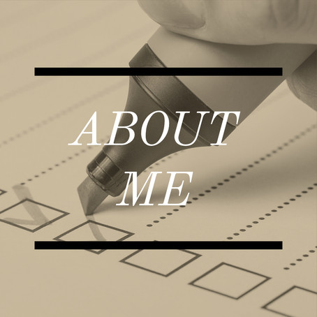 How to: Write a Great [About Me] Profile!