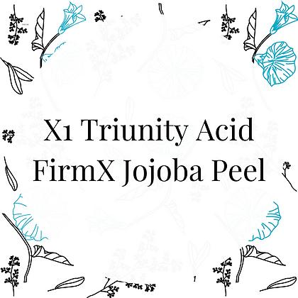X1Triunity Acid FirmX JoJoba Peel