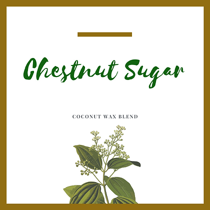 Chestnut Sugar Candle