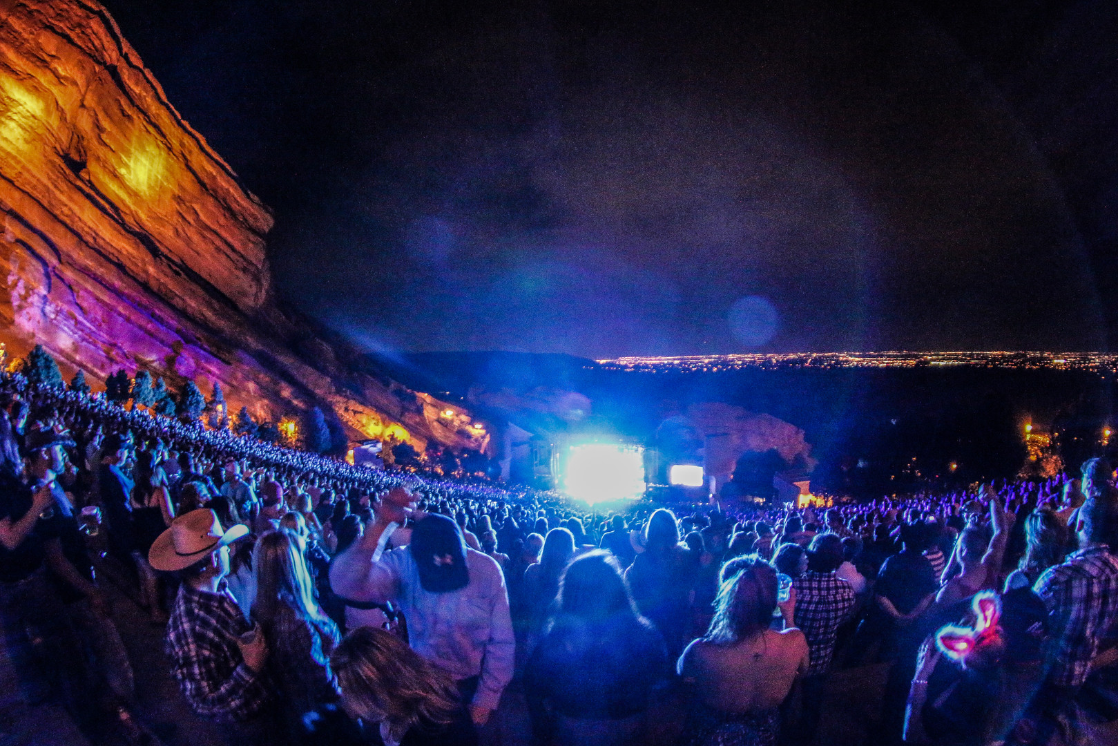 BRANTLY GILBERT @ RED ROCKS