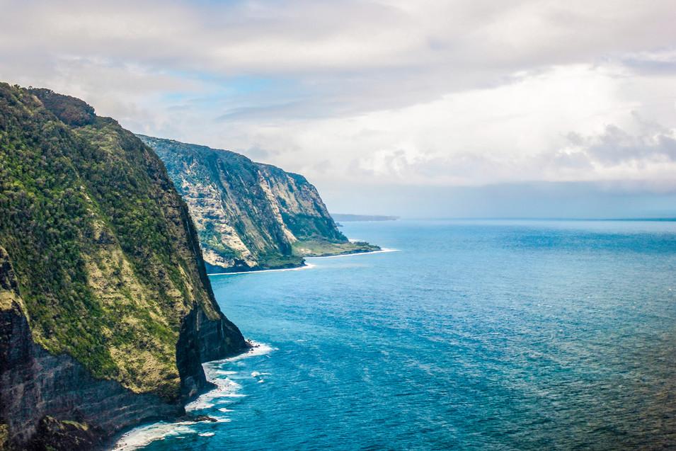 Island of Hawai'i Coastline