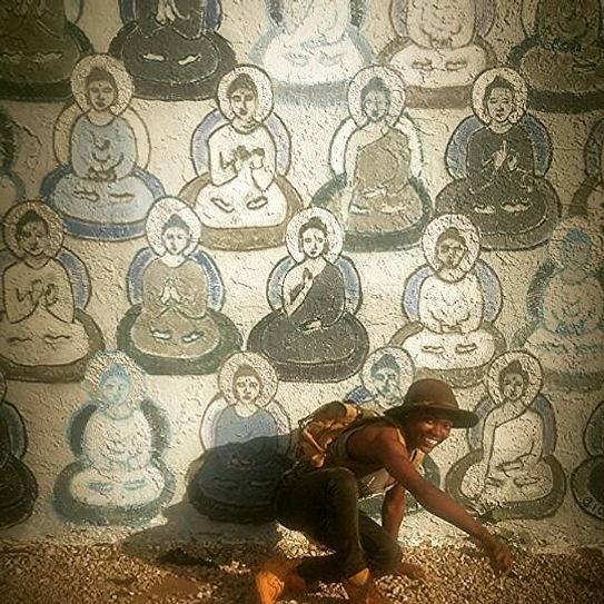 See you later #Buddha I gota go #yogi on