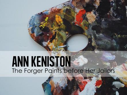 The Forger Paints before Her Jailors (Han van Meegeren)