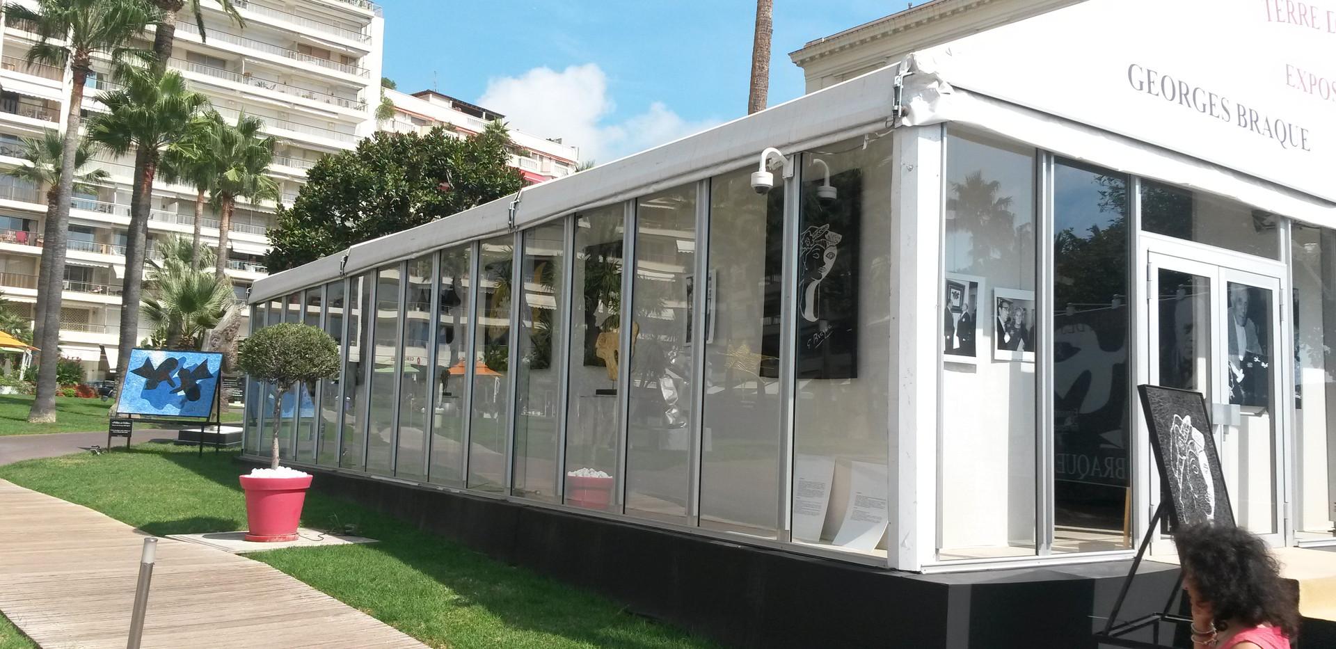 Tente vitrée Cannes