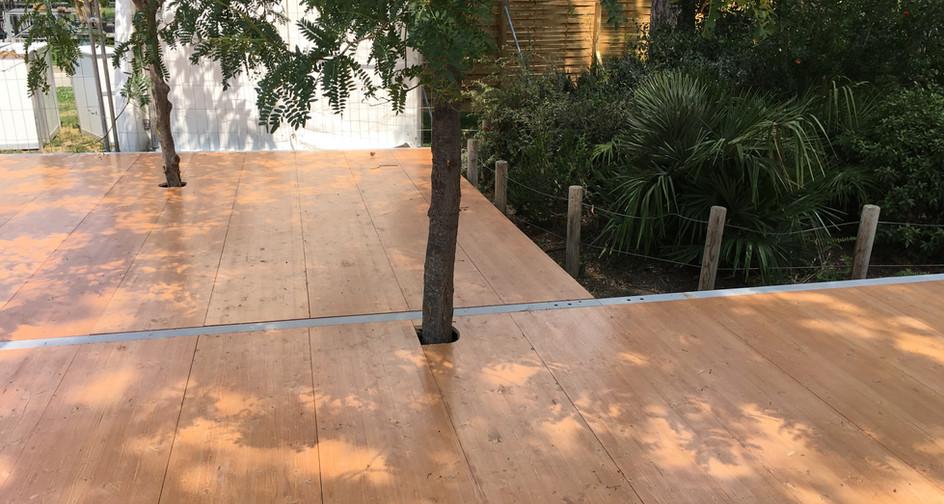 Découpe de plancher Festival Marseille