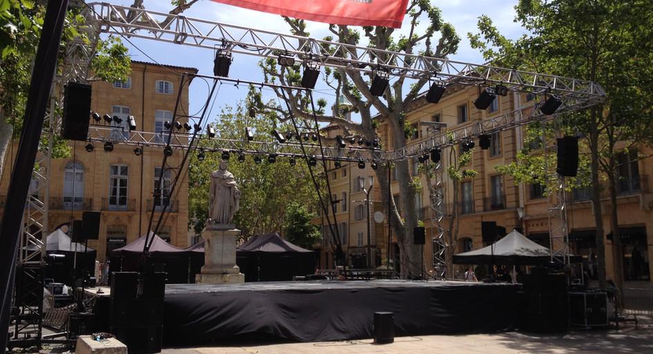 Scène Aix En Provence
