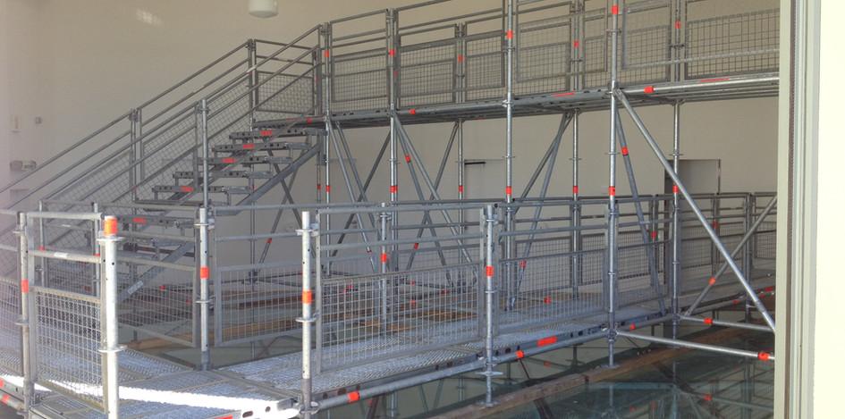 Escaliers échafaudage Hyères