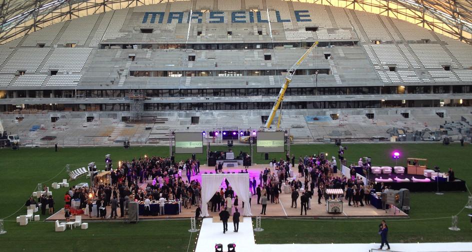 Plancher Déco Stade Vélodrome Marseille