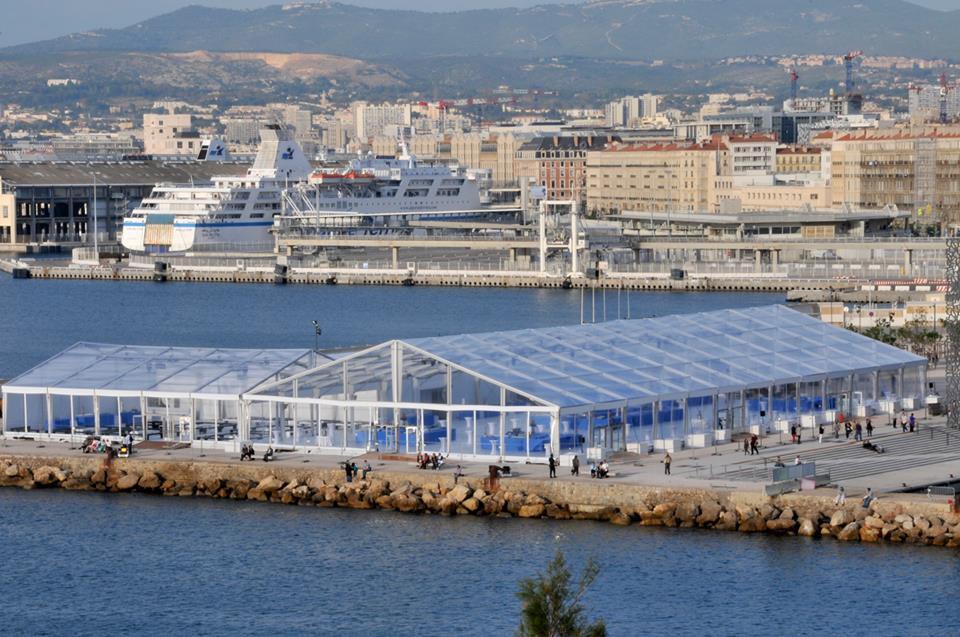 Chapiteau Esplanade J4 Marseille