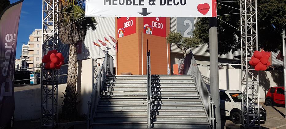 Arche signaétique Entrée Marseille