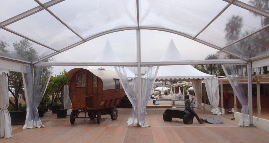 Plancher structure arquée Cannes