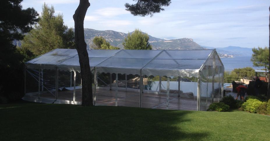 Tente Cristal Provence