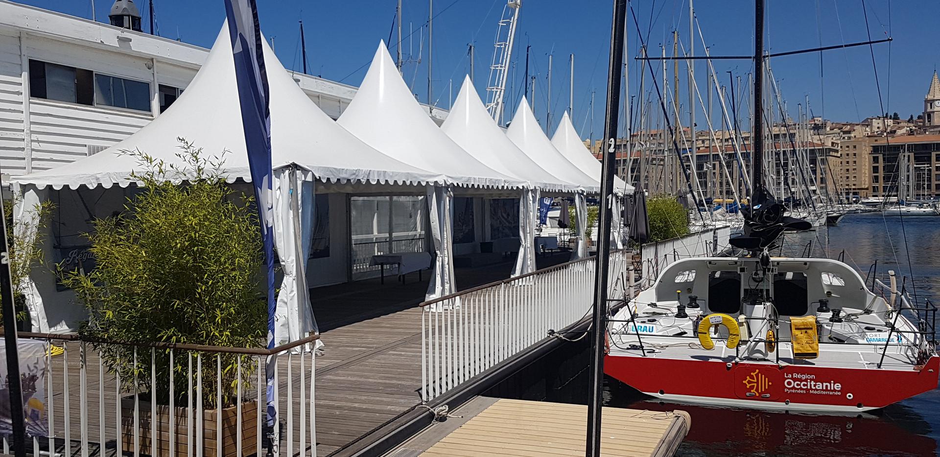 Tentes pagodes Marseille