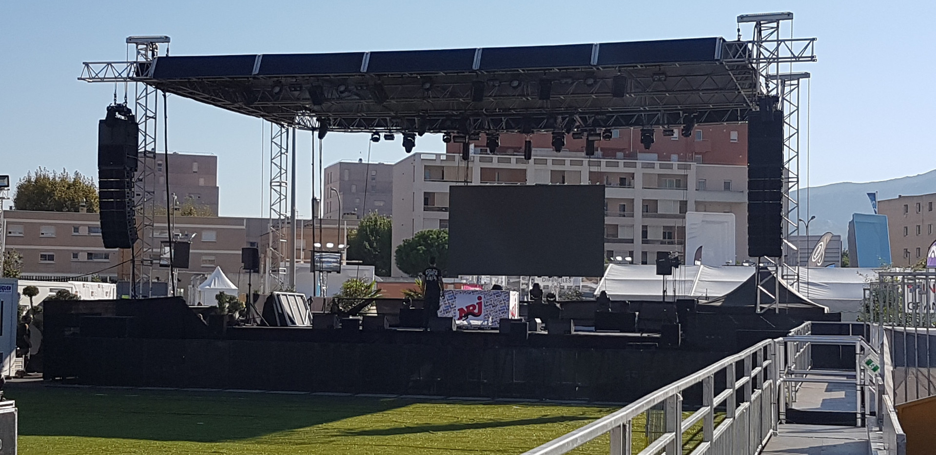 Scène Parc Chanot Marseille