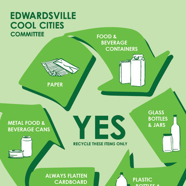 Edwardsville Cool Cities Recycling Design
