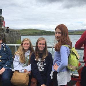 On the ferry from Cleggan to Inishbofin.