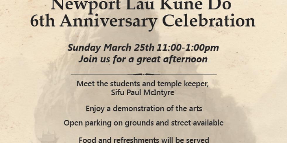 Newport Lau Kune Do 6th Anniversary Celebration!