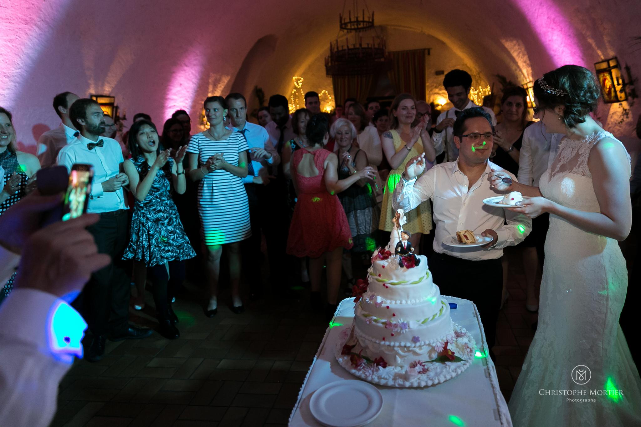 Mariage au château d'Isenbourg