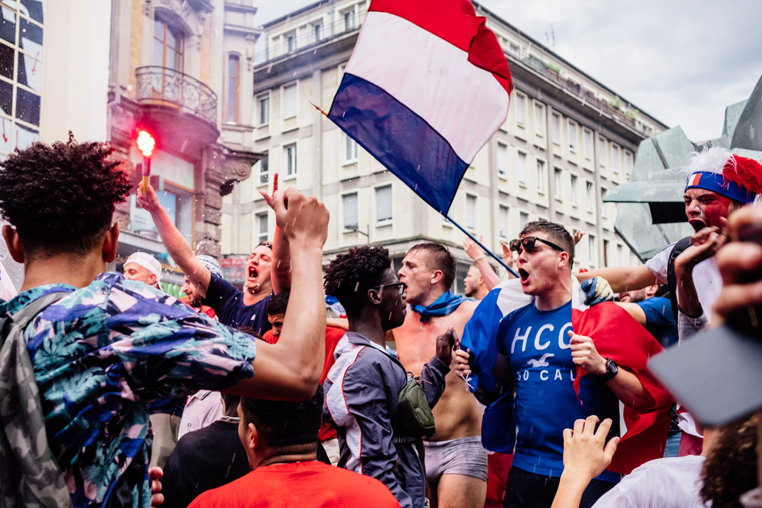Finale de la coupe du monde de football 2018