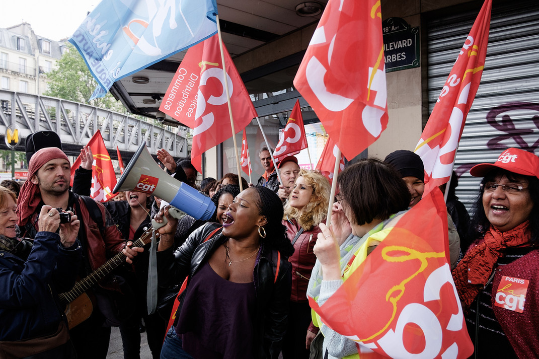 Mobilisation des employés de TATI  Barbes