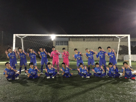 【U-15】第26回関東クラブユースサッカー選手権大会(U-15)大会Challenge CUP 2020 関東大会出場決定!