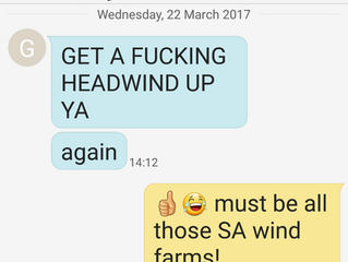 Hey South Australia, turn your fans down!