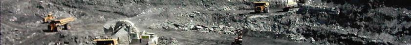 Mine, mining, excavator, dumper, open pit mine,