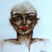 Portrait of _#art #laart #ink #losangele