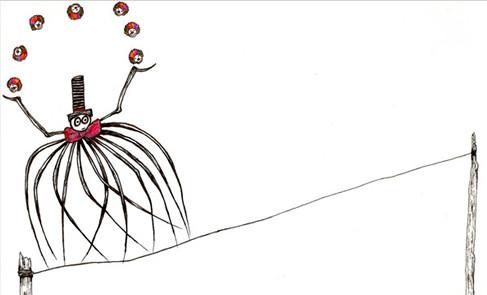 circus spider juggling clown-heads.jpg