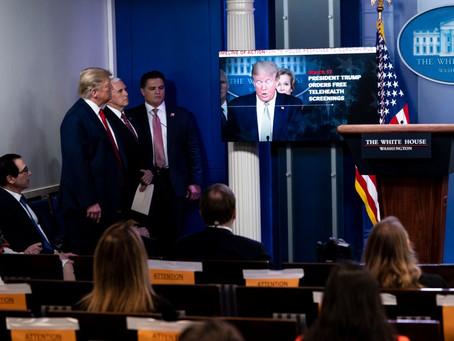 Trump Turns Daily Coronavirus Briefing Into a Defense of His Record