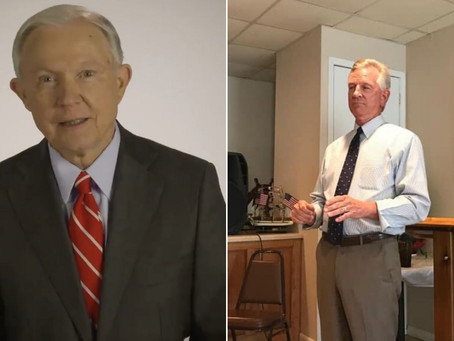 Sessions attacks Tuberville's views on China