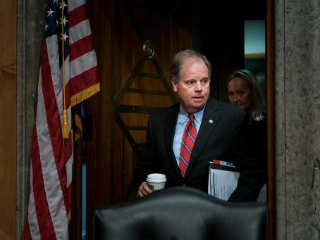Sen. Doug Jones votes against advancing $1.4 trillion stimulus package for coronavirus relief