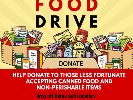 CalCoDems hold 5th Annual Thanksgiving Food Drive!