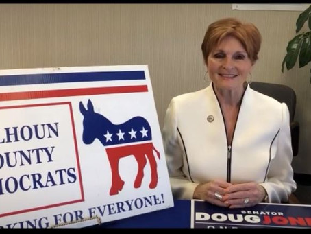 Sheila Gilbert, Chair, Calhoun County Democratic Executive Committee