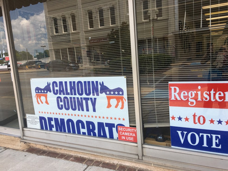 Calhoun County Democrats need your help.